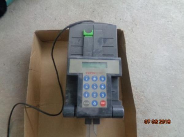 01 Impressora de imprimir cheque marca Portochek ? patrimônio nº 5068